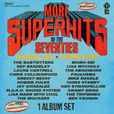 WFMU's Super Hits of the 70's front cover