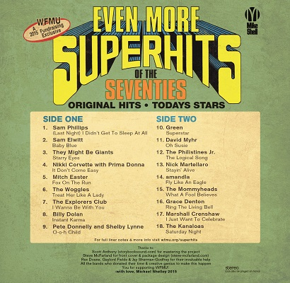 WFMU More Super Hits of the Seventies