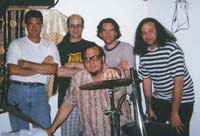 Recording the Bobby Fuller song 'JULIE' at Studio G in Brooklyn