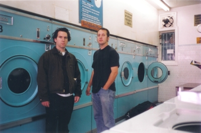 Michael Shelley and Dave Green do the laundry - CLICK for XL verison