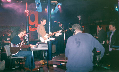 Francis McDonald (drums), Chris Geddes (keyboard), Michael Shelley (guitar), Stevie Jackson (bass)