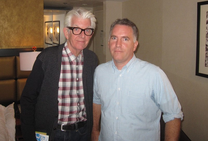 Nick Lowe and Michael Shelley 2013