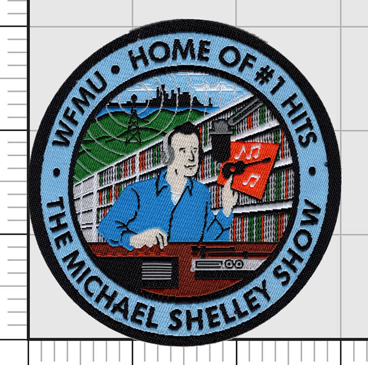 MICHAEL SHELLEY #1 HIT PATCH